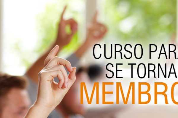 Curso para se tornar membro
