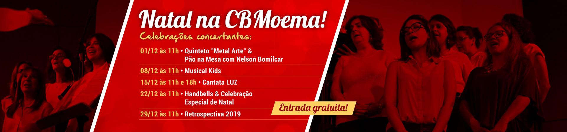 Natal CBMoema 2019